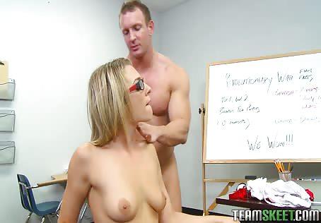 Naked College Girl