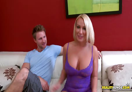 Blonde Mom Big Tits