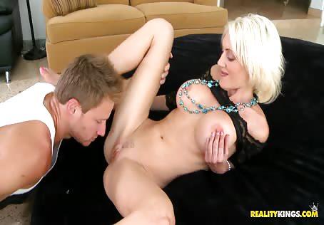 Mature Blonde Fucked Hard