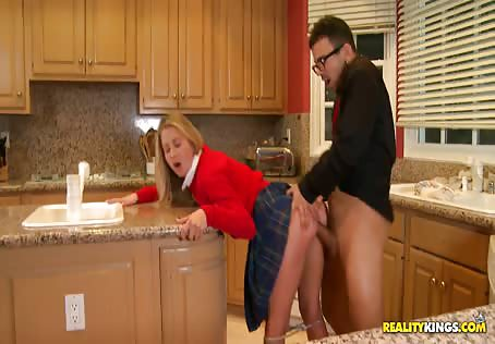 Young Nanny Fucked By Big Dick