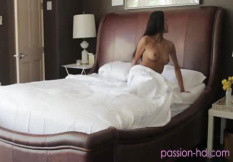 Cutie teasing her boyfriend